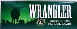 Wrangler Menthol Filtered Little Cigars made in USA. 4 x cartons of 10 packs of 20. Free shipping!