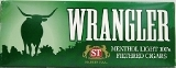 Wrangler Ultra Menthol Filtered Little Cigars made in USA. 4 x cartons of 10 packs. Ships Free!