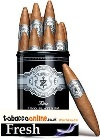 Zino Platinum Scepter Chubby cigars made in Dominican Republic. Canister of 12.