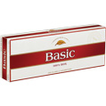 Basic Full Flavor 100 Box cigarettes made in USA x 60 packs, 6 cartons. Freshness guaranteed.