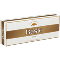 Basic Gold Lights 100 cigarettes made in USA x 60 packs, 6 cartons. Freshness guaranteed.