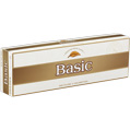 Basic Gold Lights cigarettes made in USA x 60 packs, 6 cartons. Freshness guaranteed.