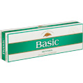 Basic Menthol Lights Box cigarettes made in USA x 60 packs, 6 cartons. Freshness guaranteed.