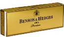 Benson & Hedges Box 100 Premium cigarettes made in USA, 3 cartons, 30 packs. Free shipping!