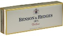 Benson & Hedges Ultra Lights Box 100 Luxury cigarettes made in USA, 50 packs. Free shipping!