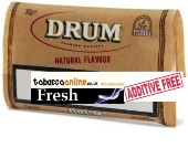 Drum Natural Flavor Rolling Tobacco made in Netherlands. 10 x 200g. 2 kilo total/ in 40 g pouches/.
