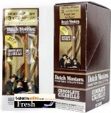 Dutch Masters Chocolate Cigarillos made in USA. Fresh Foil Loc, 3 x 40 ct. , 120 total.