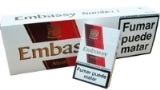 Embassy Number 1 cigarettes cigarettes made in UK, 6 cartons, 60 packs. Free shipping!