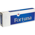 Fortuna Blue 100 Box cigarettes made in USA, 5 cartons, 50 packs. Free shipping!