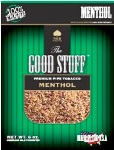Good Stuff Menthol Flavor Rolling Tobacco made in USA,  3 x 16 oz bags + 1 Free 16oz Bag! 1814g