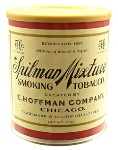 E. Hoffman Company Spilman Mixture Pipe Tobacco. 198 g tin.