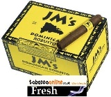 JMS Dominican Sumatra Robusto cigars made in Dominican Republic. Box of 50. Free shipping!