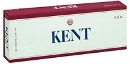 Kent Golden Lights 100 cigarettes made in USA, 5 cartons, 50 packs. Free shipping!