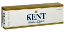 Kent Golden Lights Kings cigarettes made in USA, 5 cartons, 50 packs. Free shipping!