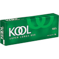 Kool Menthol 100 Box cigarettes made in USA, 5 cartons, 50 packs. Free shipping!