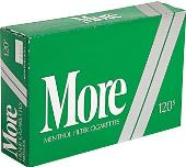 More 120 Menthol cigarettes made in USA, 3 cartons, 30 packs. Free shipping!