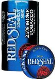 Red Seal Long Cut Mint Chewing Tobacco made in USA, 4 x 5 can rolls, 680 g total. Ships free!
