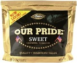 Stokers Our Pride Sweet Chewing Tobacco made in USA, 4 x 226 g, 904 g total. Free shipping!