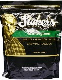 Stokers Wintergreen Chewing Tobacco made in USA, 2 x 450 g, 900 g total. Free shipping!